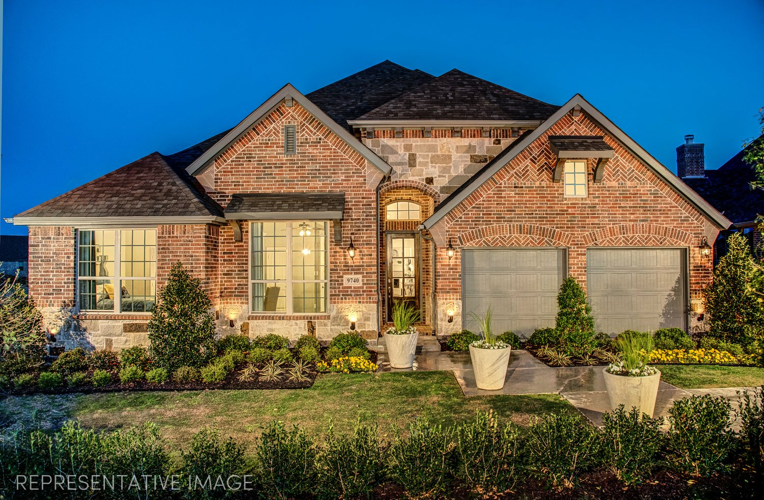 American Legend Homes Prairie View 65s subdivision  Frisco TX 75035