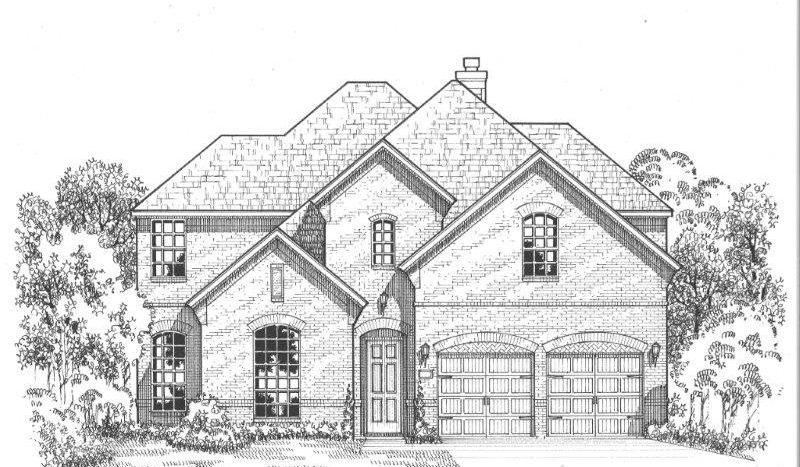 American Legend Homes Windsong Ranch - 61s subdivision 720 Mountain Laurel Drive Little Elm TX 75068