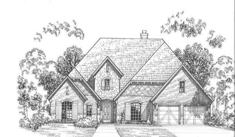 American Legend Homes Parkside subdivision  Prosper TX 75078