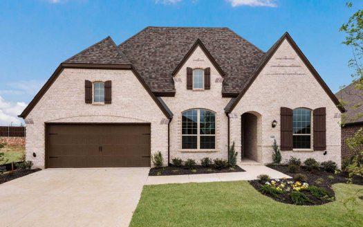 Highland Homes Wildridge:Wildridge: 60ft. lots subdivision 3609 North Star Lane Oak Point TX 75068