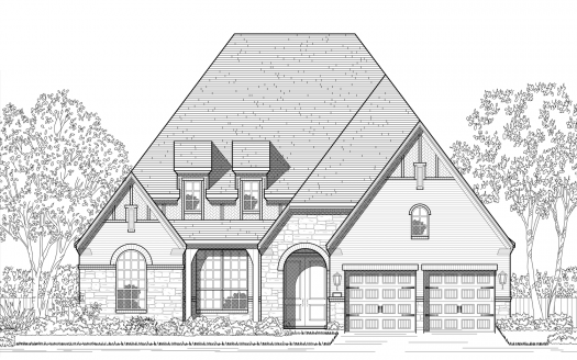 Highland Homes The Tribute: Westbury: 60ft. lots subdivision  The Colony TX 75056