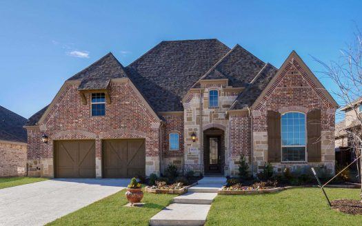 Highland Homes Canyon Falls: Silverleaf subdivision 6635 Roughleaf Ridge Road Argyle TX 76226