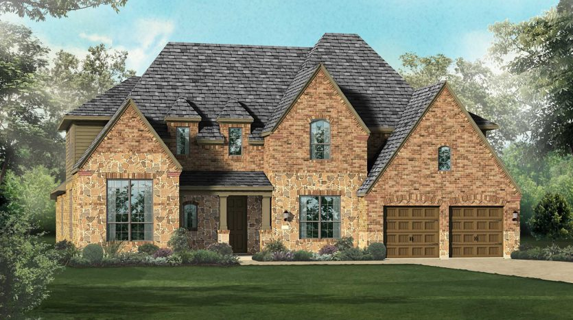 Highland Homes Whitley Place subdivision 3501 Newport Drive Prosper TX 75078