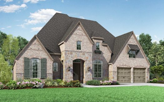 Highland Homes Whitley Place subdivision 4370 Trinidad Court Prosper TX 75078