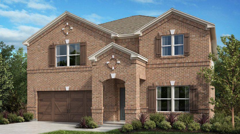 KB Home Creeks of Legacy subdivision  Prosper TX 75078