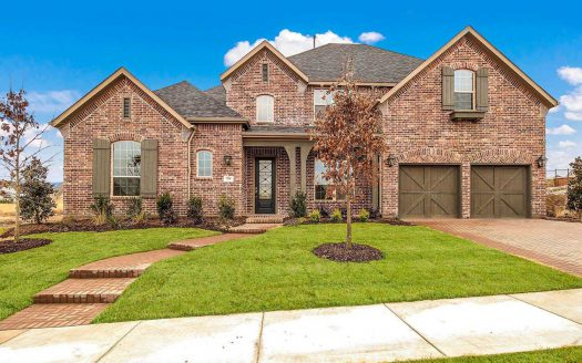 Highland Homes Whitley Place subdivision 3500 Newport Drive Prosper TX 75078