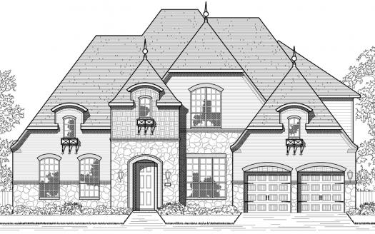 Highland Homes Parkside Prosper subdivision  Prosper TX 75078