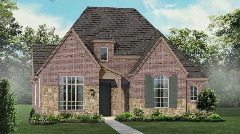 Highland Homes Prairie View subdivision 13912 Round Prairie Lane Frisco TX 75035