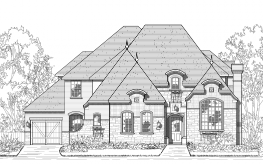 Huntington Homes The Tribute - Balmerino subdivision 7200 Kingsbarns The Colony TX 75056