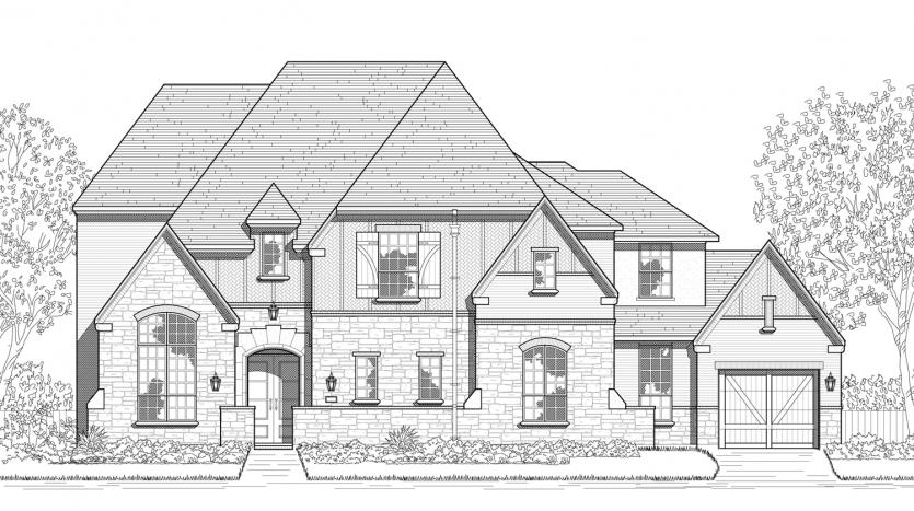 Huntington Homes Parkside Prosper 90s subdivision  Prosper TX 75078