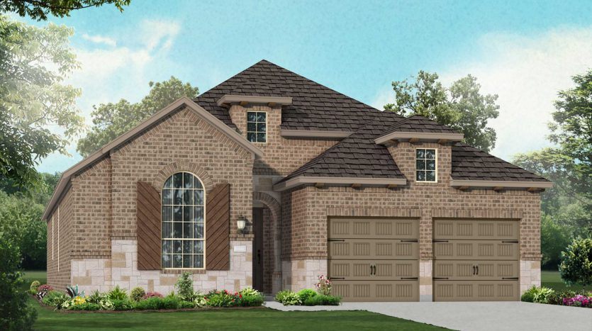 Highland Homes Lilyana: Classic Series subdivision 1509 Bird Cherry Lane Prosper TX 75078