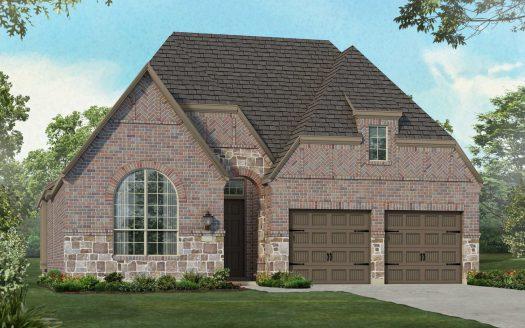 Highland Homes Star Trail: 55ft. lots subdivision 1630 Pebblebrook Lane Prosper TX 75078