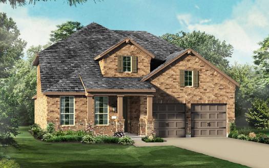Highland Homes Lantana: Barrington - 50ft. lots subdivision  Lantana TX 76226