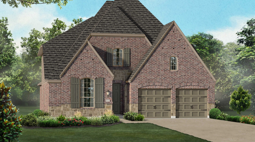 Highland Homes Lilyana: Classic Series subdivision 1502 Bird Cherry Lane Prosper TX 75078