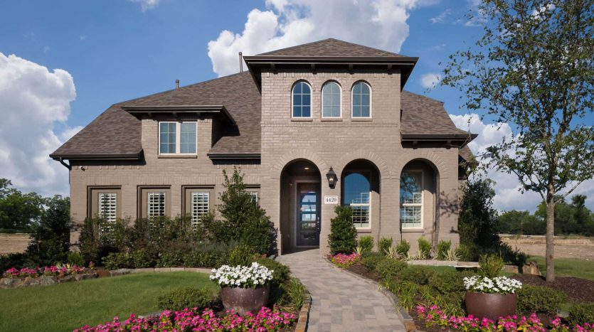 Highland Homes Lilyana: Classic Series subdivision 4420 Sunflower Lane Prosper TX 75078