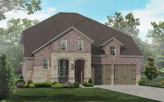 Highland Homes Lilyana: Classic Series subdivision 1514 Bird Cherry Lane Prosper TX 75078