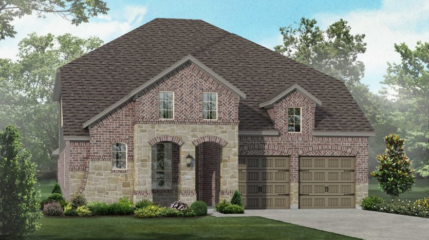 Highland Homes Lilyana: Classic Series subdivision 1514 Bird Cherry Lane Prosper TX 75078