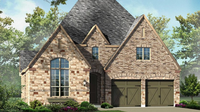 Highland Homes Windsong Ranch 60s subdivision  Prosper TX 75078