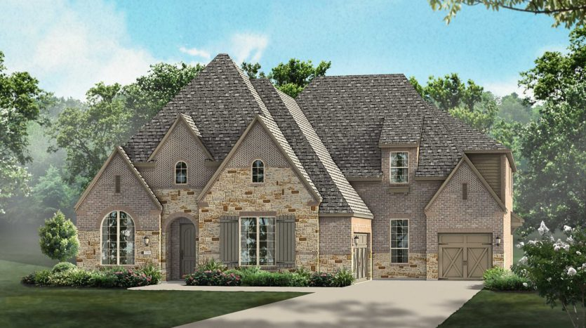 Highland Homes Whitley Place subdivision 620 Glen Canyon Drive Prosper TX 75078