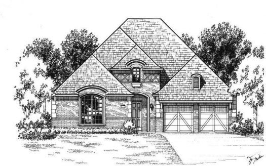 American Legend Homes The Tribute - Westbury 60s subdivision  The Colony TX 75056