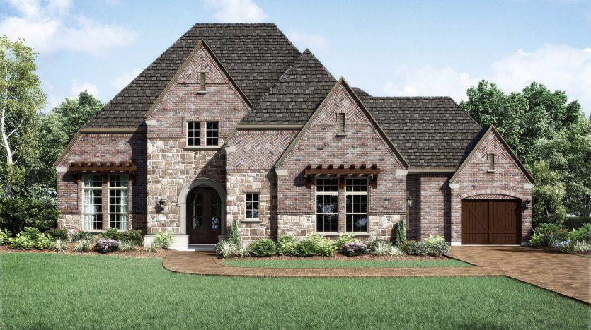 Huntington Homes Windsong Ranch subdivision  Prosper TX 75078