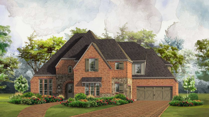 Huntington Homes Whitley Place subdivision  Prosper TX 75078