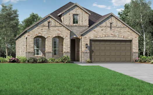Highland Homes Harvest: Meadows subdivision 1917 13th Street Argyle TX 76226