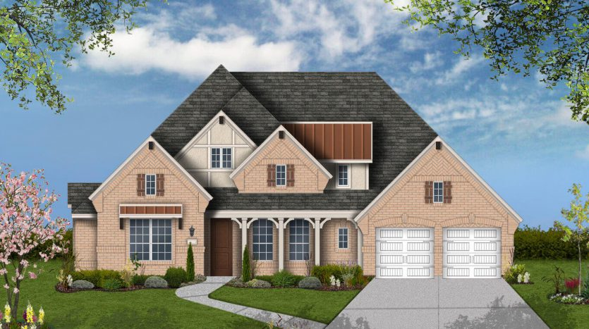 Plantation Homes South Pointe Manor Series subdivision  Mansfield TX 76063