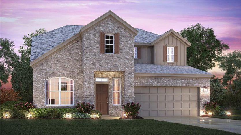 M/I Homes The Preserve At Doe Creek subdivision  Prosper TX 75078