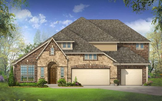 Bloomfield Homes Stone Ranch subdivision 719 Fairfield Drive Wylie TX 75098
