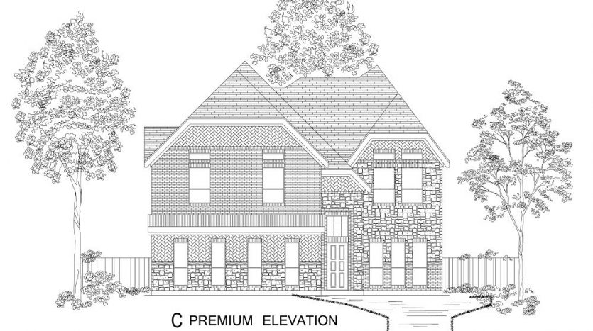 First Texas Homes The Preserve at Pecan Creek subdivision 4509 Eagle Path Road Denton TX 76208
