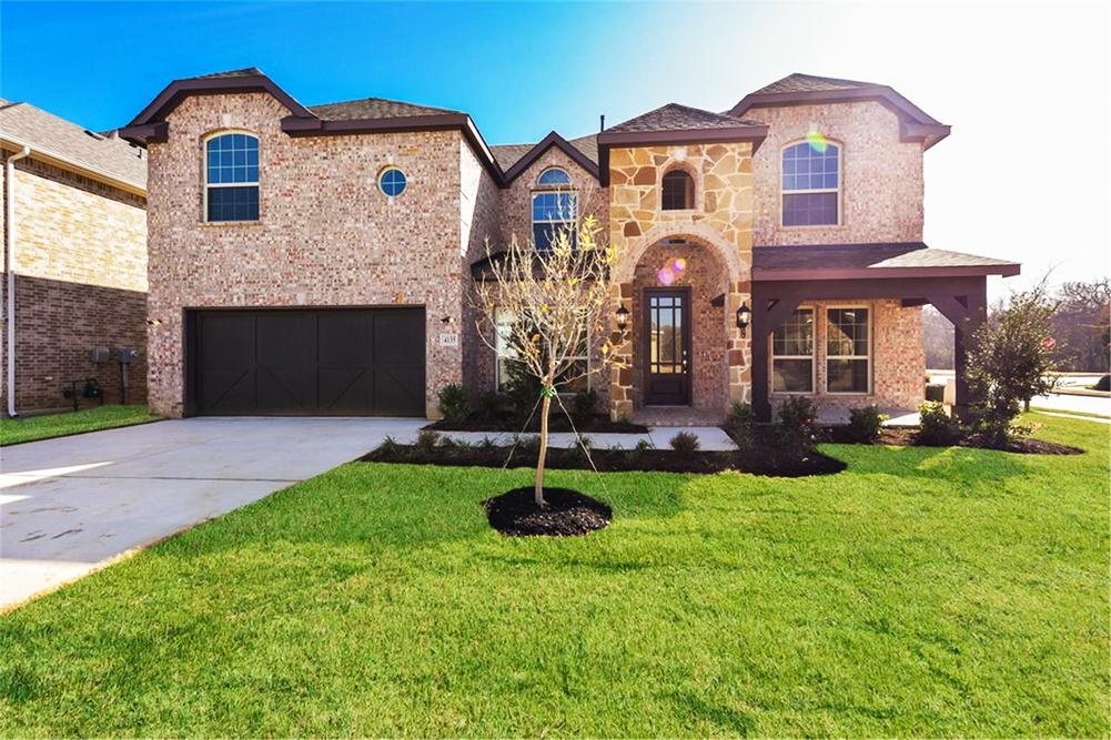 First Texas Homes The Preserve at Pecan Creek subdivision 3201 Key Largo Lane Denton TX 76208