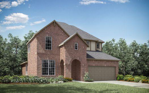 Drees Custom Homes Trailwood subdivision  Roanoke TX 76262
