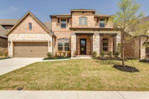 David Weekley Homes Wynn Ridge Estates Village Series subdivision 6520 Palmetto Bluff Drive McKinney TX 75071