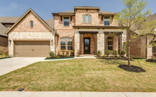 David Weekley Homes Wynn Ridge Estates Village Series subdivision 6520 Palmetto Bluff Drive McKinney TX 75071