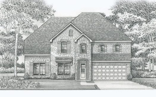 Saxony by Shaddock Homes Windsong Ranch subdivision  Prosper TX 75078