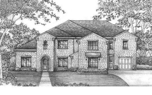 Shaddock Homes Shaddock Creek Estates - Gated Community subdivision 10450 Blackenhurst Lane Frisco TX 75034
