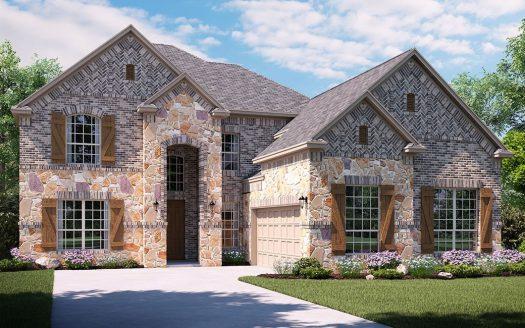 Lennar Hills of Crown Ridge subdivision 10291 Glean Street Frisco TX 75035