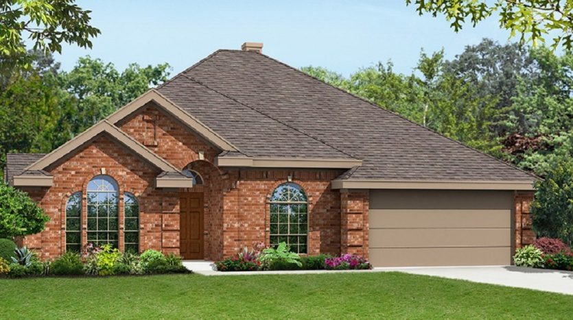 Seville 2323 F Plan First Texas Homes 3 Bedrooms 2