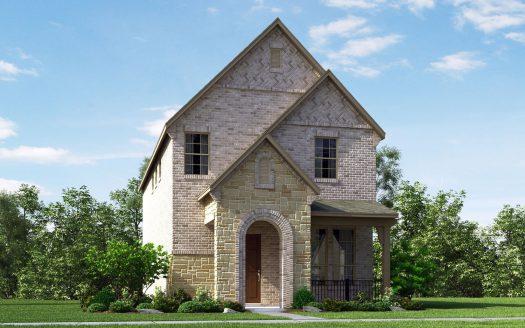 Meritage Homes Bayside subdivision 7500 Palisades Dr Rowlett TX 75088