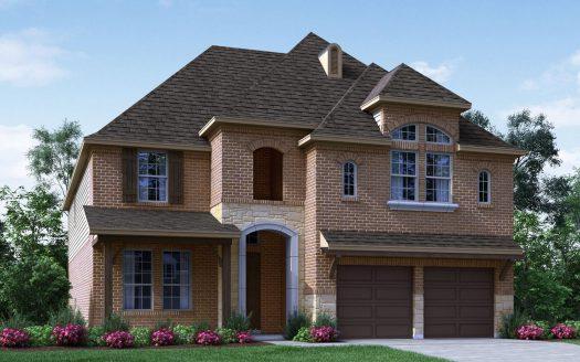 Meritage Homes Cottonwood Creek subdivision 2016 Rosemill Frisco TX 75033