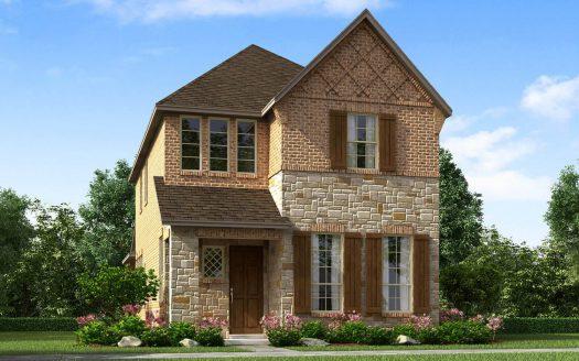 Meritage Homes Bayside subdivision 7504 Palisades Dr Rowlett TX 75088