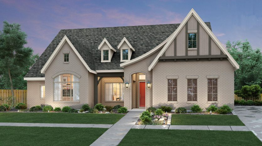Southgate Homes 5T Ranch subdivision 420 Travelers Terrace Argyle TX 76226