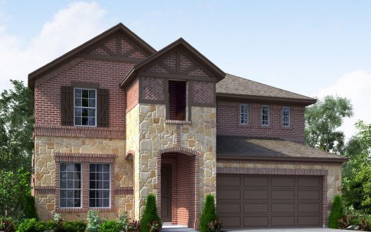 Meritage Homes Hills at Legacy - Woodland Series subdivision  Prosper TX 75078