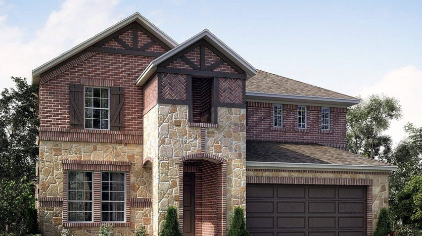 Meritage Homes Sorrento at Stonebridge subdivision 7716 Rota Drive McKinney TX 75072