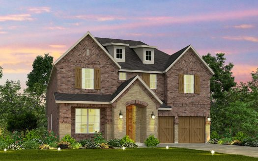 Meritage Homes Creekside at Austin Waters - The Chalets subdivision  The Colony TX 75056
