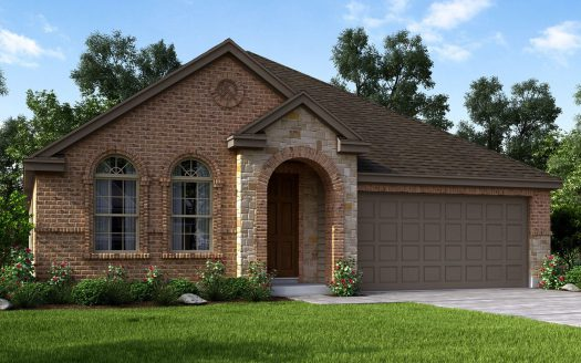 Meritage Homes Willow Wood subdivision 6909 Danridge Road Rowlett TX 75089