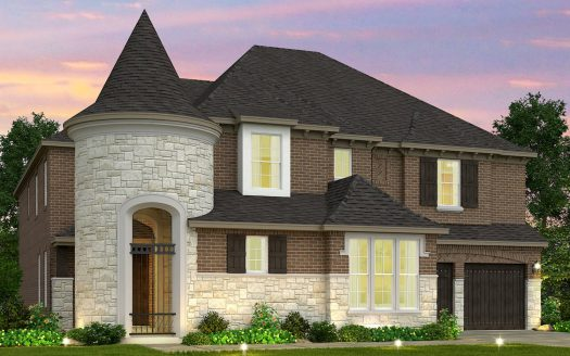 Meritage Homes Creekside at Austin Waters - The Manors subdivision  The Colony TX 75056