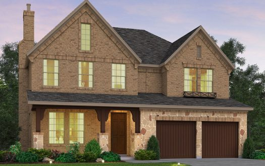 Meritage Homes Stonehaven at The Tribute - The Chalets subdivision  The Colony TX 75056