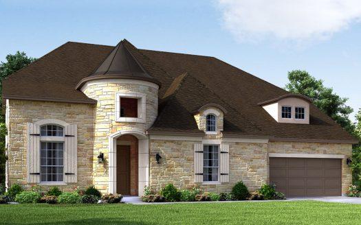 Meritage Homes Frontier Estates subdivision  Prosper TX 75078